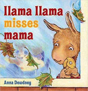 Llama Llama Misses Mama book cover by Anna Dewdney